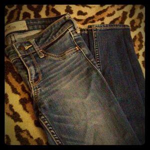 Hollister light wash skinny jean